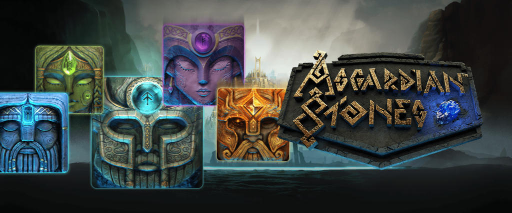 Asgardian Stones Slot Logo King Casino