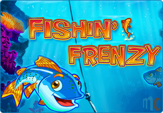 Fishin Frenzy Slot Logo