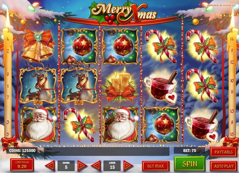 Play Merry Xmas Slots Free With No Download