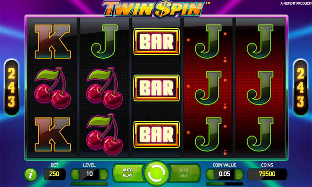twin spins slot