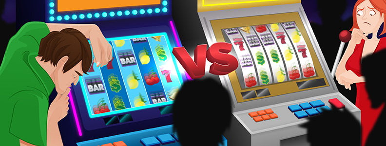 Video Slots vs Slot Machines Image