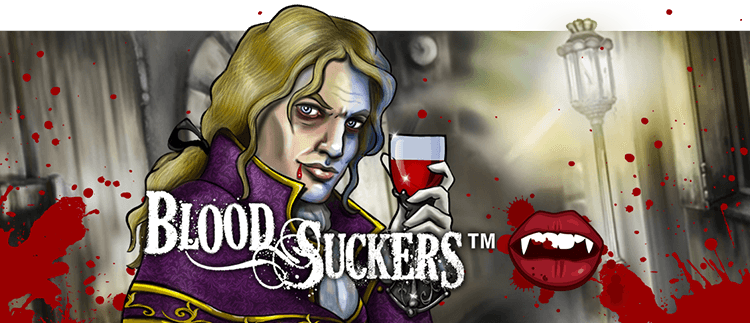 Blood Suckers Slot Logo King Casino