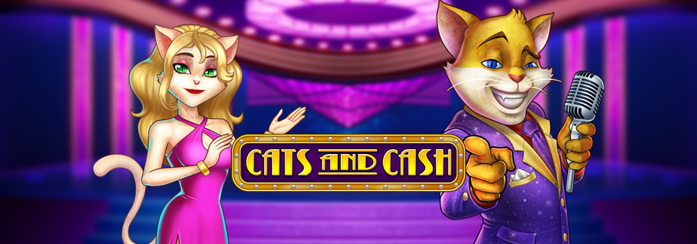 Cats and Cash Slot Logo King Casino
