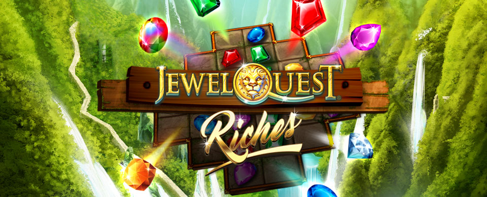 Jewel Quest Riches Slots Logo King Casino